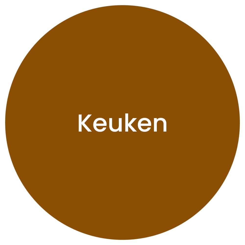 tijd voor steigerhout Keuken circle