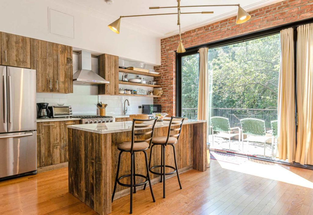 Keukenmeubelen van steigerhout image