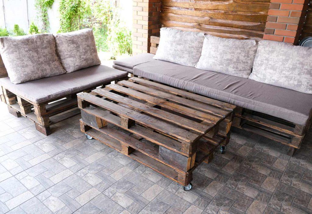 tijd voor steigerhout loungeset